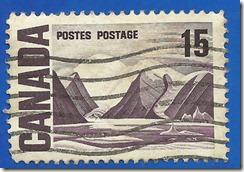 Canada postes postage 1
