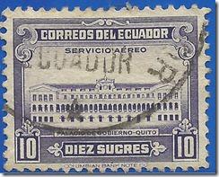 Correos del Ecuador - Palácio de Gobierno - Quito1