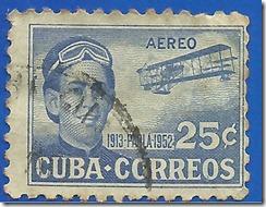 Cuba  1913 Parla 1952 Correo aéreo1