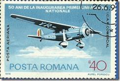 Posta romana 50 ani de la inaugurarea primeilini aeriene nationale1