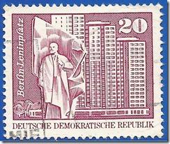 Republica democrática Alemana - Berlín Leninplatz1