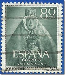España año Mariano Nuestra Señora de los Reyes1954 1