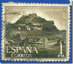 España Commemoraciones Centenearias de San Sebastián 1