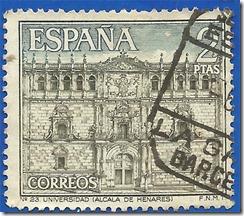 España Serie Turística Nº23 Universidad (Alcalá de Henares)1