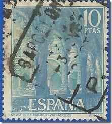 España Serie Turística nº29 San Gregorio (Valladolid)1