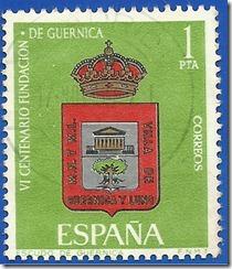 España VI Centenario de la Fundación de Guernica Escudo de Guernica1