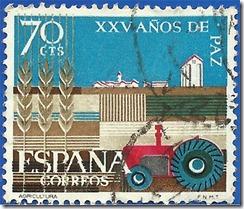 España  XXV de Paz Española Agricultura1