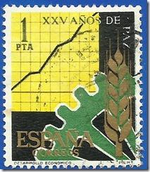 España  XXV de Paz Española Desarrolo Económico1