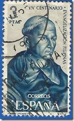España IV Centenario de la Evangelización de las Filipinas Padre Andrés de Udaneta 1508-1568 1965 1
