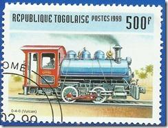 Republica de Togo Trenes Locomotoras Vulcan 0-4-0 1999 1