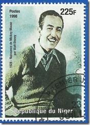 Republica de Niger 1998 1928 Nacimiento de Mickey Mouse por Walt Disney 1