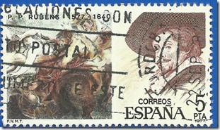 España - Centenarios Pedro Pablo Rubens (1577-1640) y Centauros y Lapitas Museo del Prado Madrid Centro1