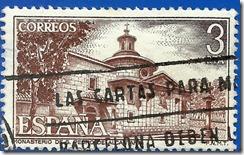 España - Monasterio de San Pedro de Alcántara Vista general  Castaño Rojizo y sepia1