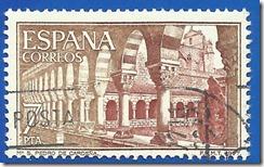 España - Monasterio de San Pedro de Cardeña Claustro castaño y ocre1