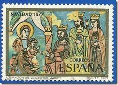 España - Navidad 1977 Adoración de los Reyes Jaca Multicolor1