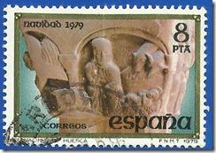 España - Navidad 1978 La Anunciación Iglesia de Santa María de Nieva Segovia1