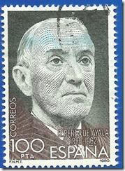 España - Centaenario del nacimiento de Ramón Pérez de Ayala 1980 Ramó0n Pérez de Ayala 1880-1962 1