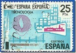 España - España Exporta tecnología 1980 multicolor1