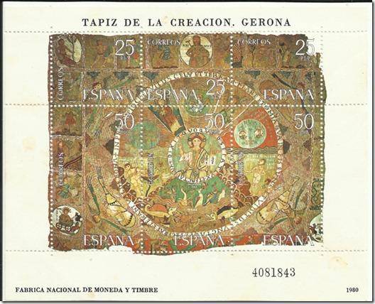 España Tapiz de la Creación Gerona 1980 1