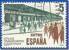 España - Utilice Transportes colectivos Metro 1980 1