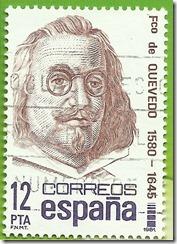 España - Centenarios Francisco de Quevedo 1580-1645 1981
