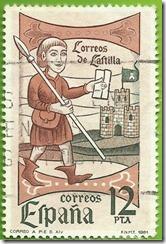 España Día do Selo  Correos de Castela 1981 1
