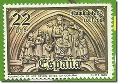 España Navidad 1980 Adoracion de los Reyes (La Coruña)1