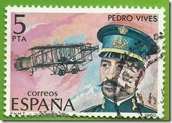 España Pioneros de la Aviacion Pedro Vives 1980 1