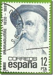 España - Centenairos, Xose Mª Iparraguirre (1820-1881) 1981  1