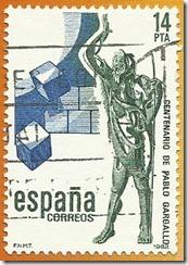 Espanha - Centiario do nacemento do escultor Pablo Gargallo 1982