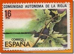 Espanha - Estautos de Autonomia comunidad autonoma de la rioja 1983 1