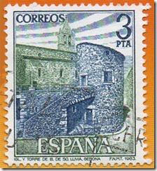 Espanha - Paisaxes e Monumentos Conxunto monumental de Llivia(Gerona) 1