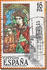Espanha- Vidrieiras Artisticas A epifania Catedral de Xerona 1983 1